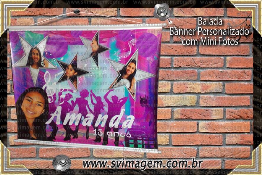 Balada Debutante 15 Anos Estrela Dj Banner