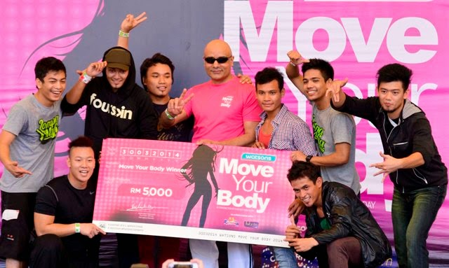 Malaysian Get Fit & Healthy, fitness, health, move your body, malaysia fitness activity, dance