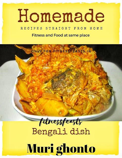 2 types of Muri ghonto recipe. Bengali recipe of fish