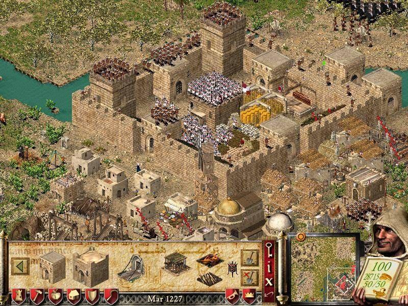 تحميل لعبة stronghold crusader extreme كاملة للكمبيوتر