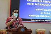 Wagub Kandouw: Upaya Pemberantasan Narkoba Harus Dilakukan Semua Komponen Masyarakat