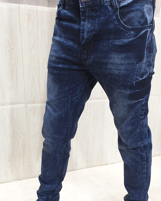 New Fashionable Slim  Fit Style Denim Pant For Men