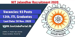 nit recruitment 2020