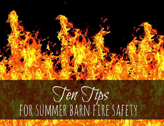 Ten Tips for Summer Barn Fire Safety - Oak Hill Homestead