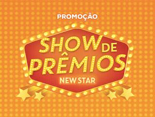 Participar Promoção New Star Folheados Show de Prêmios