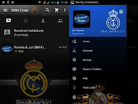 Download BBM MOD Real Madrid v3.2.0.6 APK Update 2017 Transparan Theme