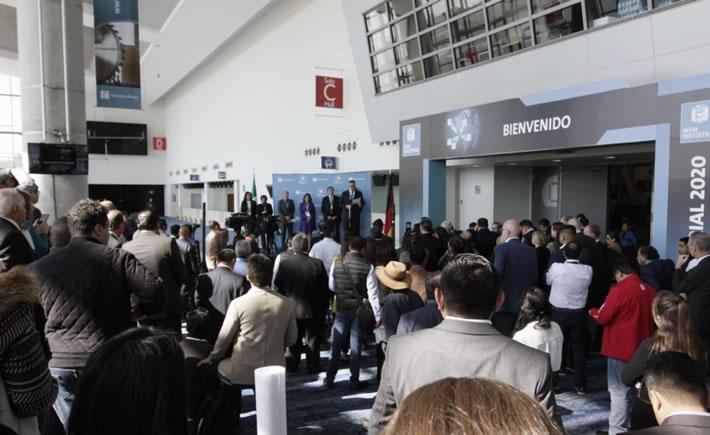En la Magna Expo Mueblera (MEM) 2020, que se llevó a cabo en enero pasado se expusieron tecnologías de punta para cubrir las necesidades del mercado global. (Foto: Erik Meza/Hannover Fairs México)