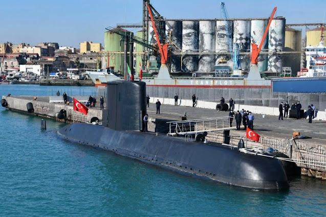 Comenzó el  ejercicio ASW de la OTAN con submarinos de Grecia, Italia, Turquía y USnavy