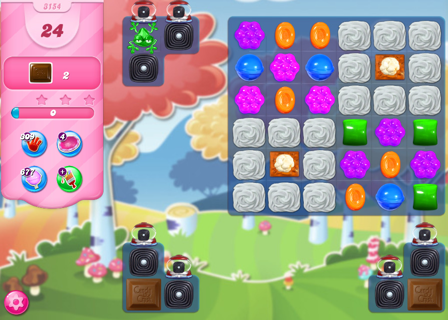 Candy Crush Saga level 3154