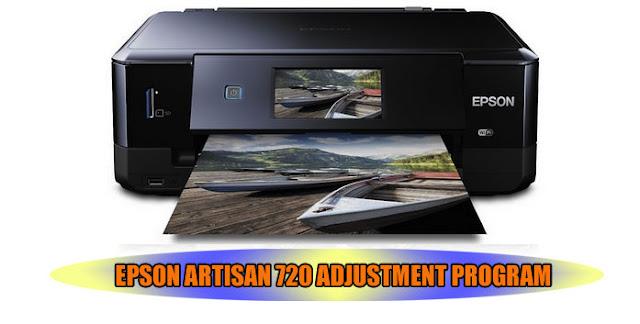 EPSON ARTISAN 710 ADJUSTMENT PROGRAM IS