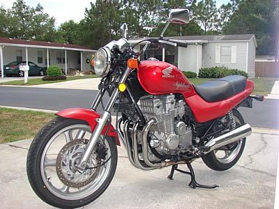 Throttle Pull Black Vinyl 1991-1993 Honda CB750 Nighthawk 750 Cable