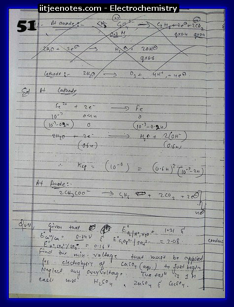 Electrochemistry chemistry6