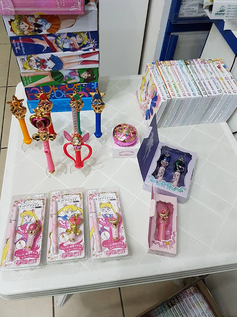 Sailor Moon make-up, Miracle Romance by Creer Beauté now at Alastor Napoli comic shop