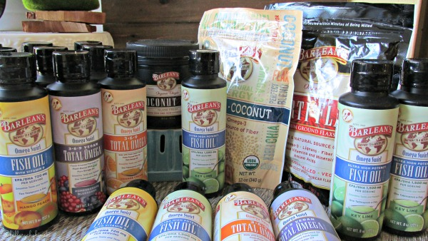 Barlean's Assortment of Healthy Living Products