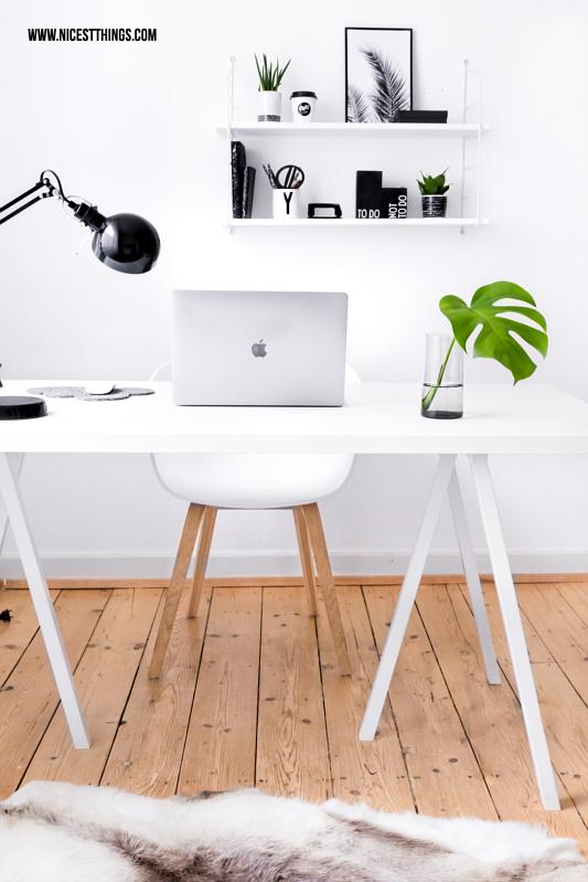 Schreibtisch Home Office weiss mit Hay About A Chair