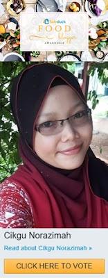 saleduck blogger award, undi cikgu norazimah