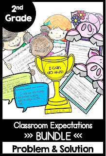 Guided Reading with a Purpose Classroom Expectations Bundle