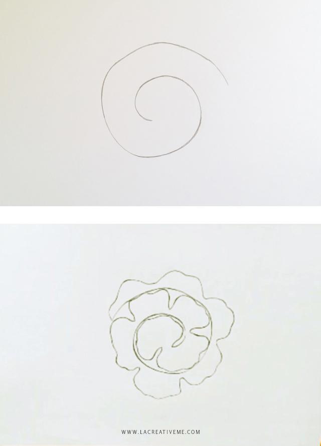 DIY Τριαντάφυλλα από χαρτί