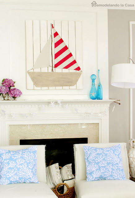 mantel for summer