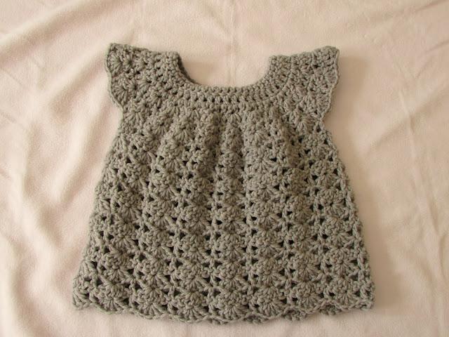 Infant Crochet dress for beginners