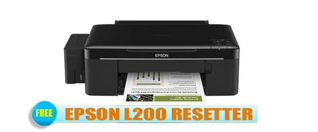 Epson L200 Adjustment Program