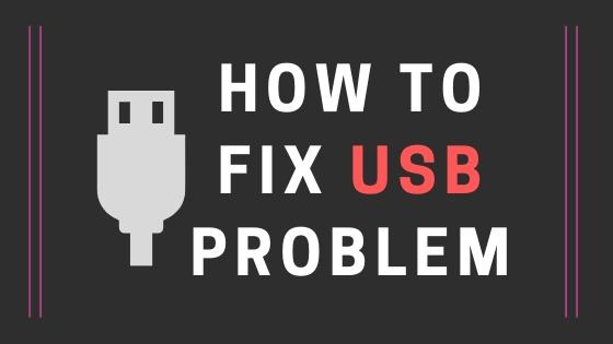 fix usb