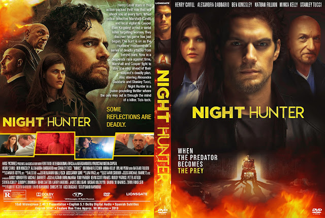 Night Hunter (Nomis) DVD Cover
