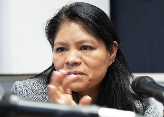 Marcelina Bautista, fundadora del Sindicato Nacional de Trabajadores y Trabajadoras del Hogar en MéxicoONU/Jean Marc Ferré