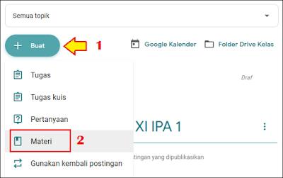 Cara Membuat Absen di Google Classroom - 2A