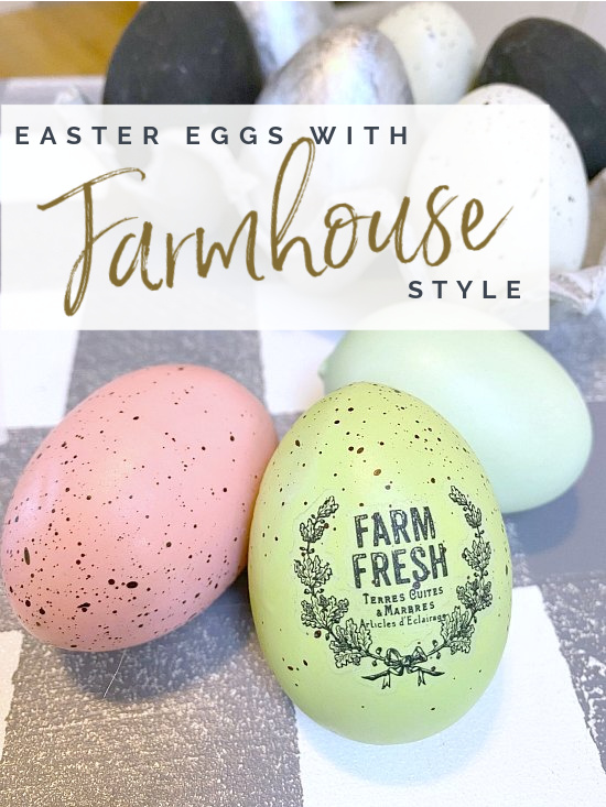 eggs with farm fresh transfer and overlay