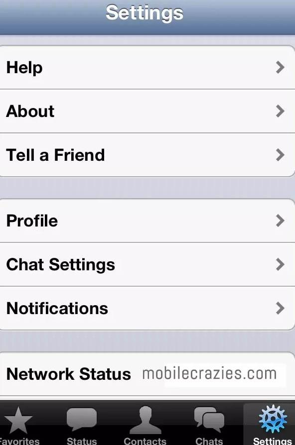 cara setting whatsapp agar tidak terlihat online di android