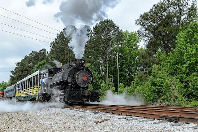 Jeddo Coal Company 85 Steam Engine at the SC Railroad Museum