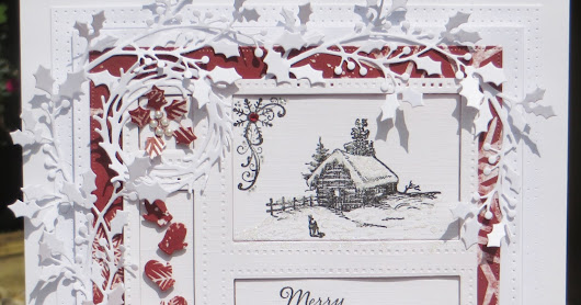 Nellys Crafty Card Attack: Fun and Festive Altenew cottage