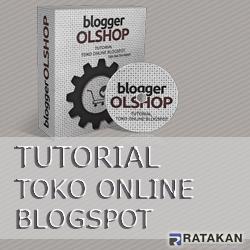 Product Bisnis Blogger Online Shop