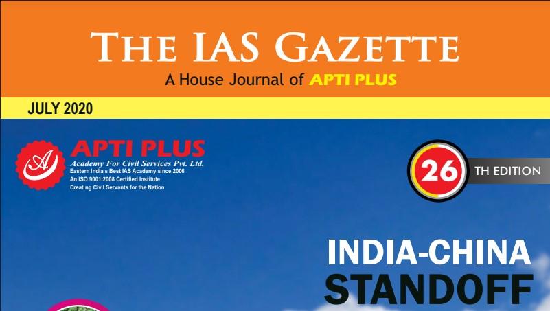 IAS Gazette Current Affairs July 2020 PDF - VISION