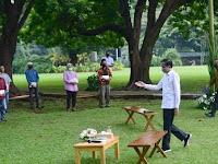Presiden Ajak Pelaku Usaha UKM Tetap Optimis Hadapi Pandemi
