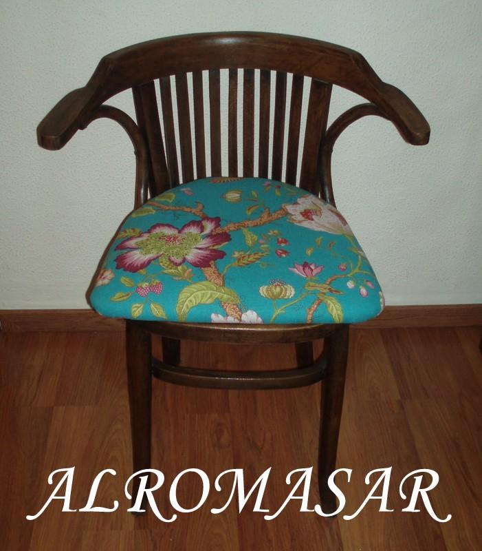 Alromasar restauraci n de silla estilo thonet - Restauracion de sillas ...