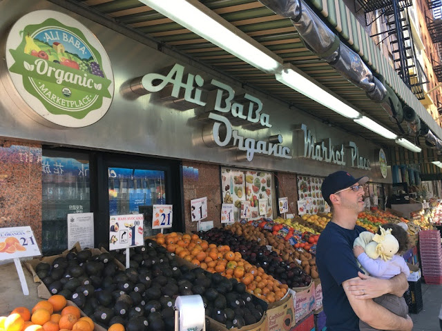 Comercio de productos ecológicos en Nueva York
