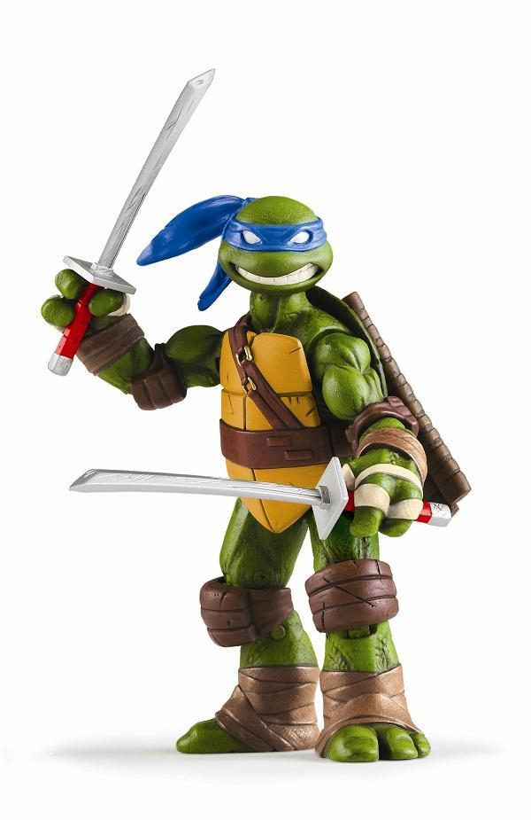 TMNT toys return looking better than ever!