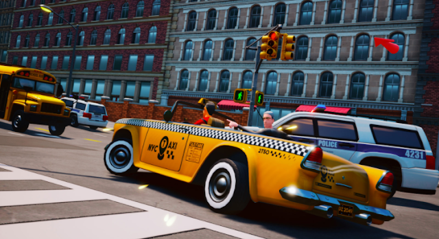 موعد اصدار لعبة Taxi Chaos رسميا