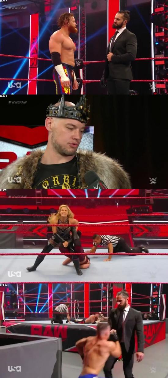 WWE Monday Night Raw 18 May 2020 HDTV 720p 480p 500MB