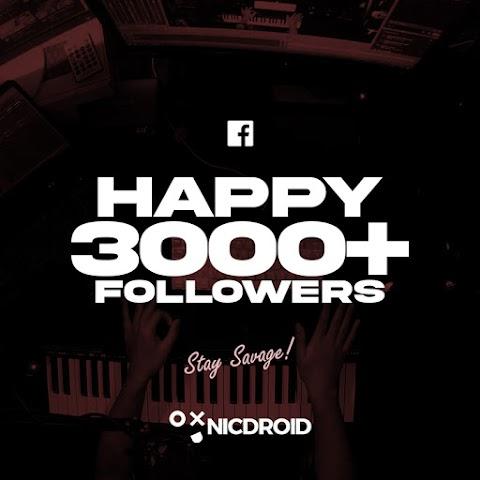 3000+ Facebook Followers Reached!