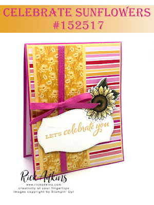 Celebrate Sunflowers Bundle, 2020-2022 In Color Cardstock Assortment, For Every Season Designer Series Paper, Stampin' Up!, Rick Adkins