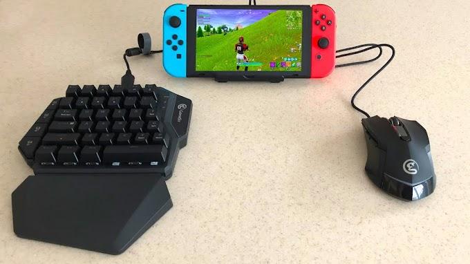 Đã có thể sử dụng bàn phím và chuột USB khi chơi game trên Nintendo Switch