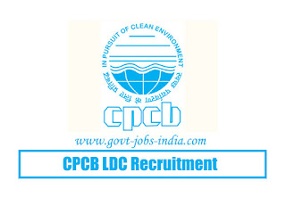 CPCB LDC Recruitment 2020