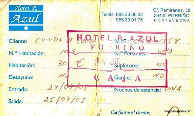 Hotel Azul, O Porriño, Galícia, Caminho de Santiago