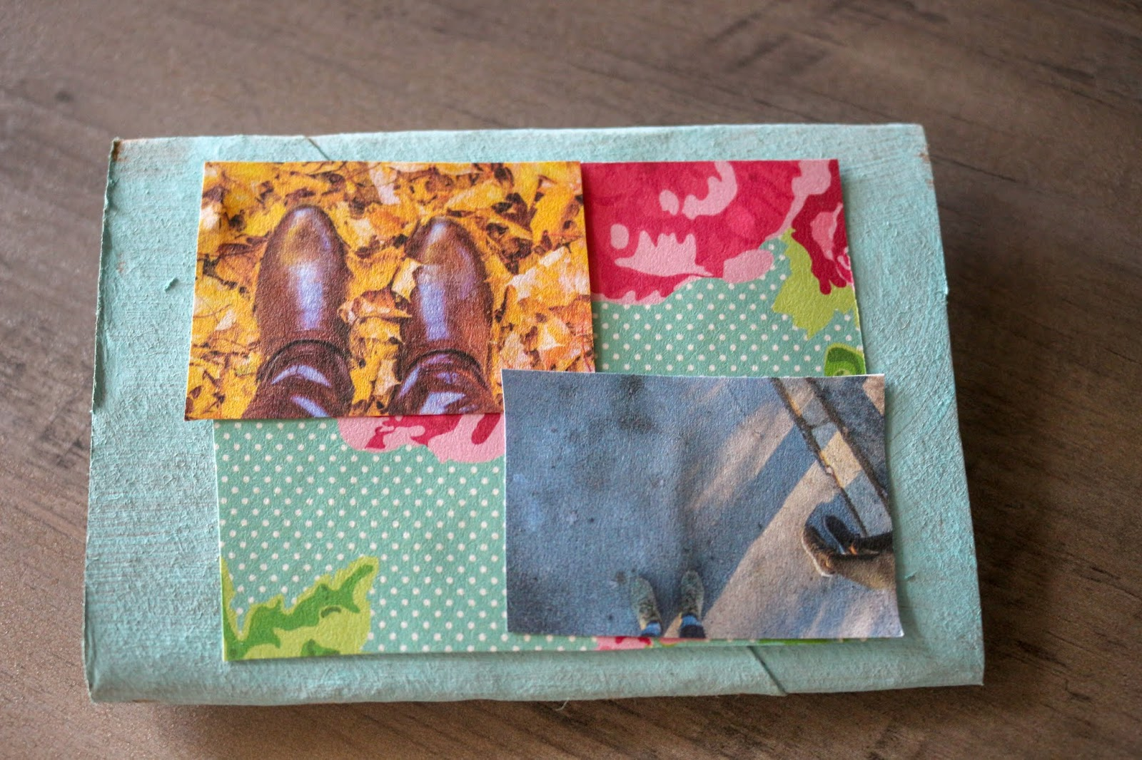 mini scrapbook