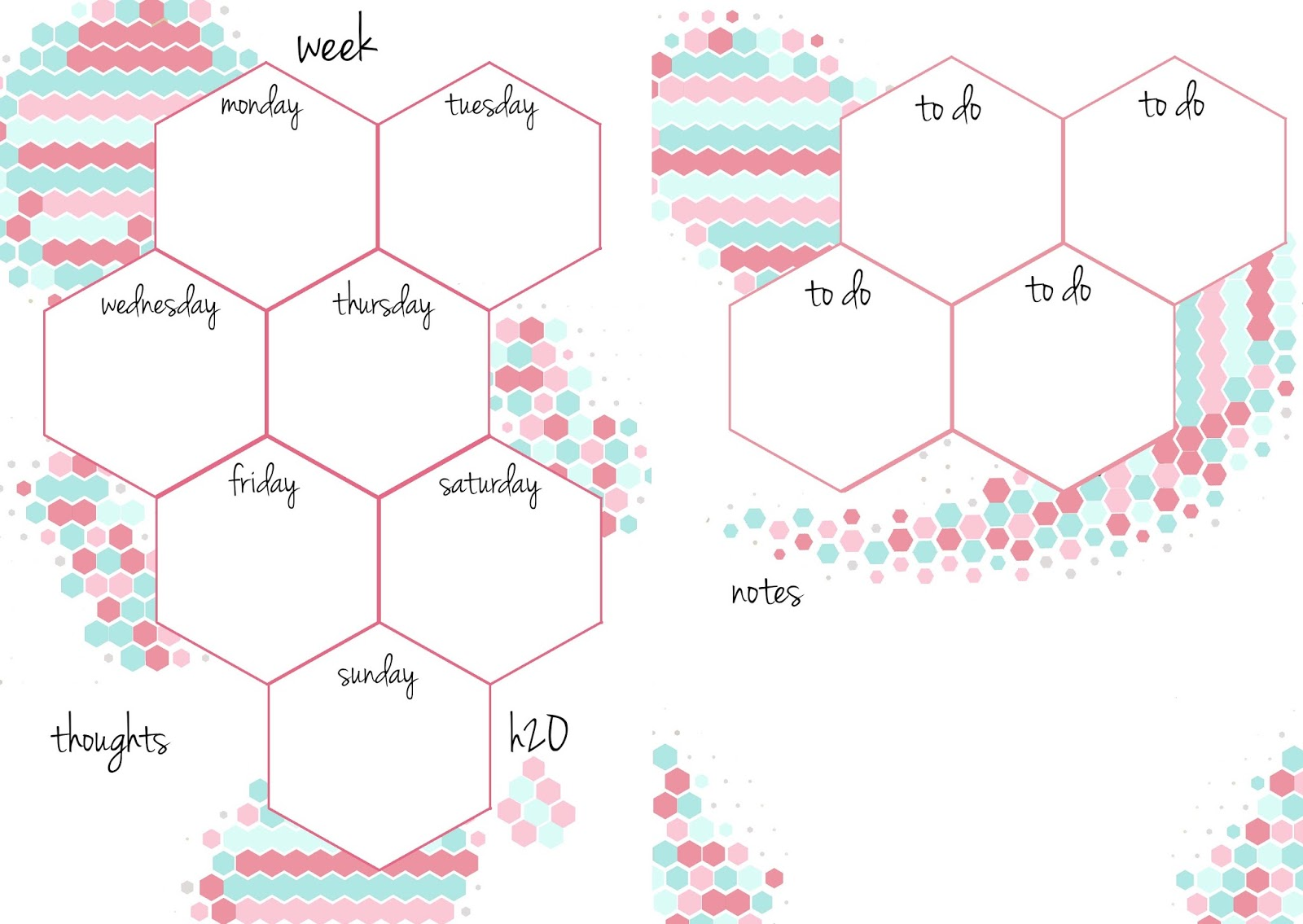 PB and J Studio: Free Printable Planner Inserts Candy ...