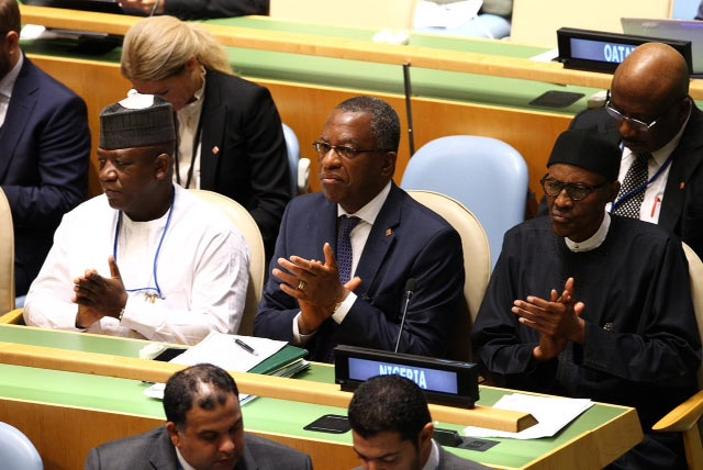 Photos: President Buhari attends 71st UN General Assembly