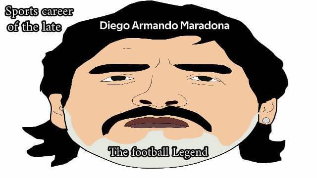Sports career of the late Diego Armando Maradona football legend [2020]